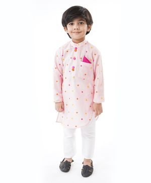 Varsha Showering Trends Full Sleeves Embroidered Kurta With Pajama