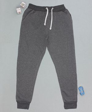 Flenza Full Length Solid Track Pants - Grey