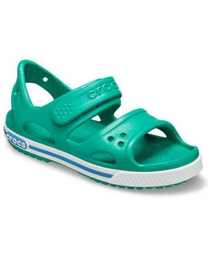 Crocs Crocband Solid Sandals - Green