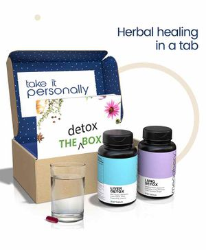 Meadbery Lung & Liver Detox Box - 60 Tablets Each