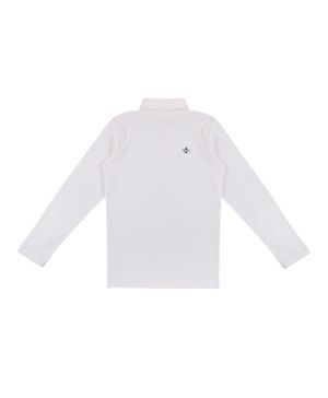 GINI & JONY Full Sleeves Solid T-Shirt - White