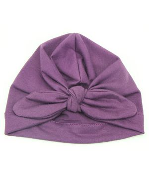Syga Turban Wrapped Style Winter Cap - Purple