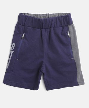 Alcis Solid Colour Shorts - Navy Blue