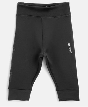 Alcis Solid Color Full Length Jogger - Black