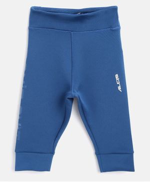 Alcis Solid Full Length Solid Color Joggers - Blue