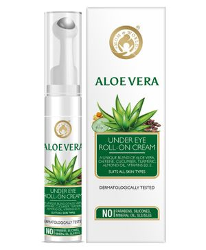 Mom & World Aloe Vera Under Eye Cream Roll On - 15 ml