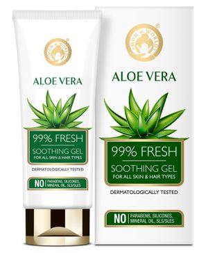Mom and World Aloe Vera 99% Fresh Soothing Gel - 100 ml