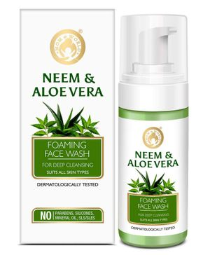 Mom and World Neem & Aloe Foaming Face Wash - 120 ml