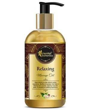 Oriental Botanics Relaxing Body Massage Oil - 200 ml