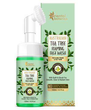 Oriental Botanics Australian Tea Tree Foaming Face Wash - 120 ml