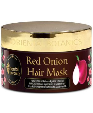 Oriental Botanics Red Onion Hair Mask with 26 Botanical Actives - 200 ml