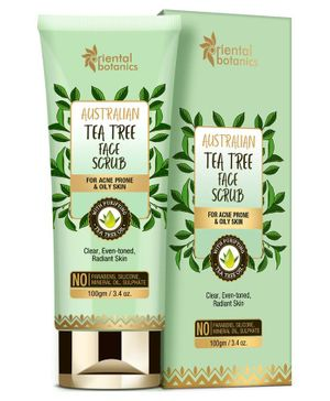 Oriental Botanics Australian Tea Tree Face Scrub - 100 gm