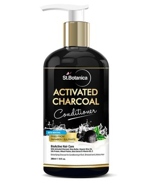 St.Botanica Activated Charcoal Hair Conditioner - 300 ml