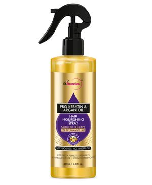 St.Botanica Pro Keratin & Argan Hair Oil Spray - 200 ml