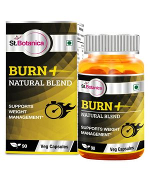 St.Botanica Burn+ Weight Management Capsules - 90 Capsules