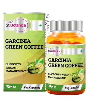 St.Botanica Garcinia Green Coffee Weight Management Capsules - 90 Capsules