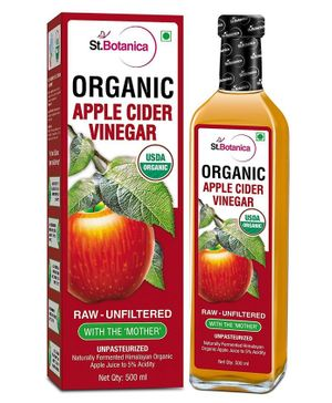 St. Botanica USDA Organic Apple Cider Vinegar - 500ml