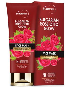 St.Botanica Bulgarian Rose Otto Glow Face Mask  - 100 gm