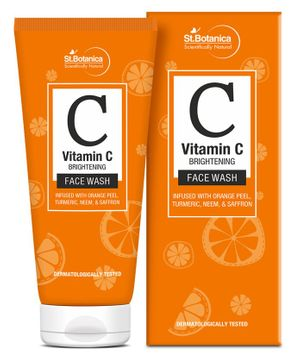 St.Botanica Vitamin C Brightening Face Wash - 100 ml