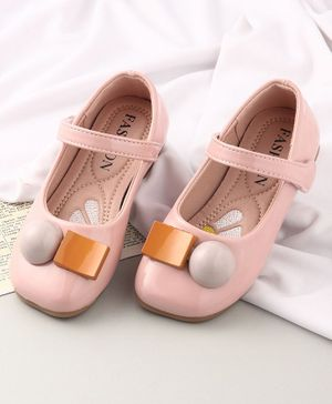 KIDLINGSS Velcro Closure Mary Jane - Light Pink