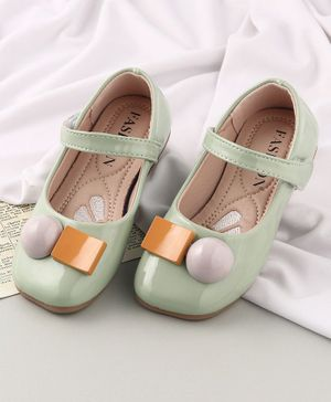 KIDLINGSS Velcro Closure Mary Jane - Light Green