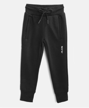Alcis Full Length Solid Track Pants - Black
