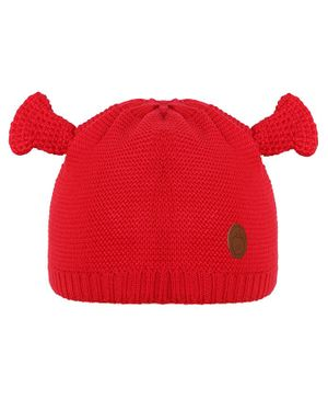 Tiekart Horn Design Cap - Red