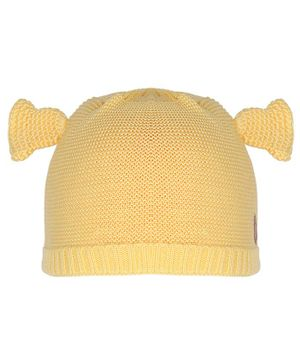 Tiekart Horn Design Cap - Yellow
