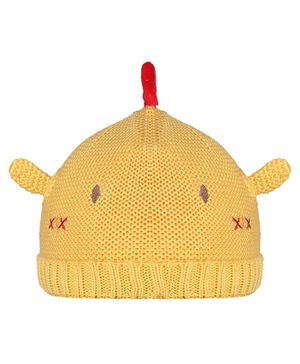 Tiekart Alien Design Cap - Yellow