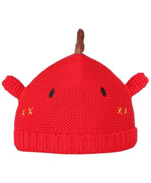 Tiekart Alien Design Cap - Red