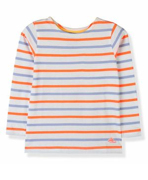 Cherry Crumble by Nitt Hyman Full Sleeves Striped Tee - Multi Color