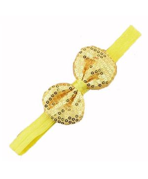 Bellazaara Trendy Headband For Little Girls - Yellow