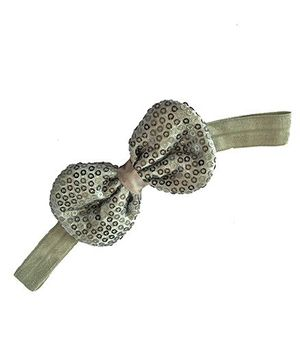 Bellazaara Trendy Headband For Little Girls - Silver