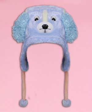 Coco Candy Dog Design Cap - Light Blue