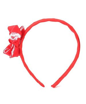 Anaira Hair Band And Clip Set - Red