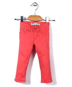Deeper Stylish Pant - Coral