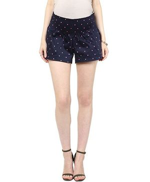 Mamacouture Maternity Shorts -  Navy Blue