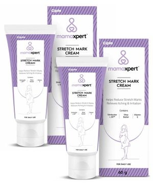 Mamaxpert Stretch Mark Cream - 60 grams ( Pack of 2 )