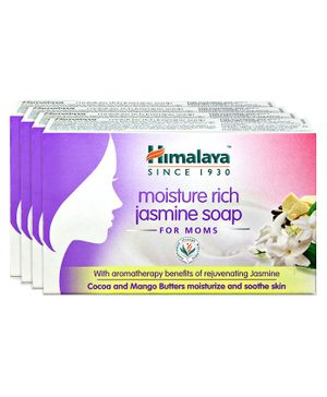 Himalaya Moisture Rich Jasmine Soap - 75 gm ( Pack of 4 )