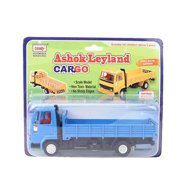Centy Ashok Leyland Cargo Toy Blue for (3-6 Years) Online India, Buy at  FirstCry com - 1339266