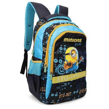 Minions Teens Stu Perman Backpack Blue - 19 Inches
