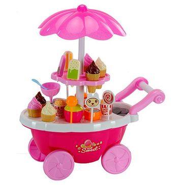 Webby Sweet Shopping Cart - Multi Color