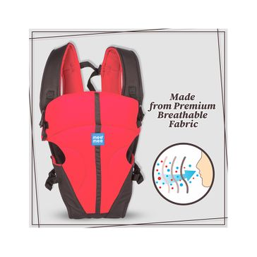 Mee Mee Lightweight Breathable Baby Carrier Red