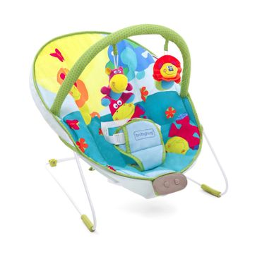 Babyhug Comfy Bouncer Babyhug Comfy Bouncer With Music & Calming Vibrations Animal Print - Multicolour