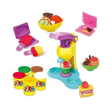 Webby DIY Ice Cream Clay Vending Machine Play Set - Multicolour