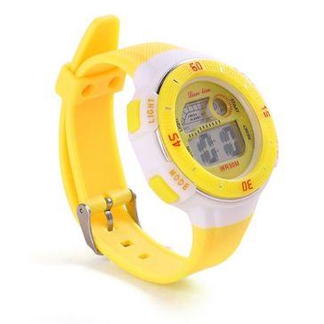 Digital Wrist Watch - Yellow