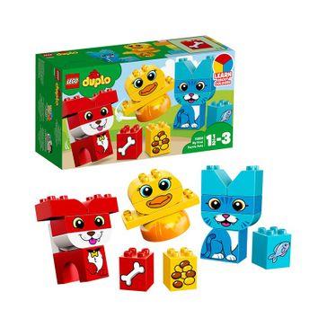 Lego Duplo My First Puzzle Pets Building Block Set - 18 Pieces