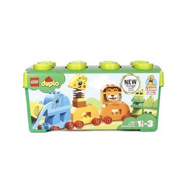 Lego Duplo My First Animal Brick Box Building Blocks Set - 34 Pieces