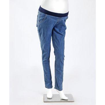 Kriti Underbelly Maternity Denim Jeans - Blue Freeoffer