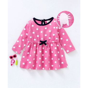 b4641a33d Buy Baby Naturelle   Me Full Sleeves Night Suit Kitty Print Pink for ...